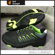 Split Nubuck Leather Safety Shoes with New PU/Rubber Sole (SN5436)