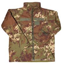 Military Vegetato Camo Softshell Jacket