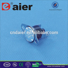 Termóstato Daier KSD301 16A 250V 10 / 5A KCD301M-OR2 50 grados ~ 180 grados Restablecimiento manual con 2 tornillos