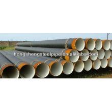 2PE / 3PE ERW Tubo / tubo de acero anti corrosión