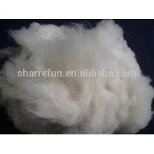 высокое качество 100% чистого коммерческого монгольского кашемира волокна белый