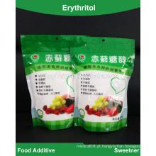Fábrica de fornecimento de novos adiposos a granel com baixo teor de calorias Erythritol