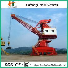 Hercules Port Used Marine Deck Crane Jib Crane Ship Crane for Sale