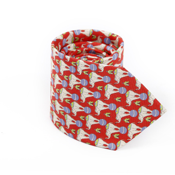 New Product Wholesale Custom Print Tie Silk Flower
