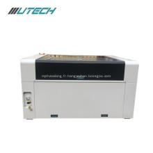 machine de gravure laser de bouteille de vin avec rotative