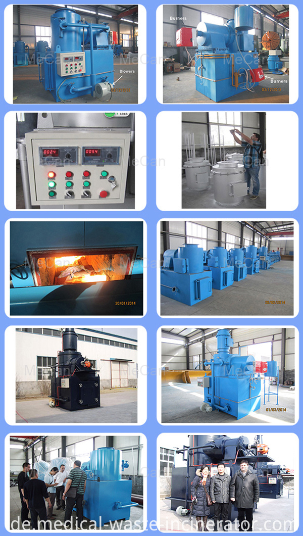 Medical Medical Waste Incinerator Furnace