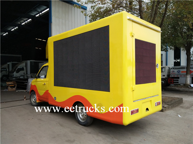 LED Mobile Advertising Trucks