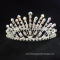 cheap wholesale hair accessories crystal flower crown headband