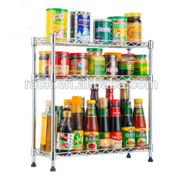 Cheap Multi-Functional Ikea Kitchen Spice Shelf for Sale, NSF Approval
