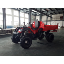 2015 New Farmer Utility Quad Farming ATV Tipping
