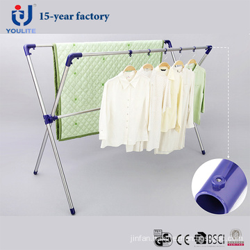 Stainless Steel Extandable X-Type Clothes Hanger