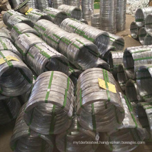 High carbon oval steel wire / oval galvanized wire price / galvanized oval wire