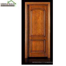 Conceptions de porte en bois classiques de Guangzhou Teak