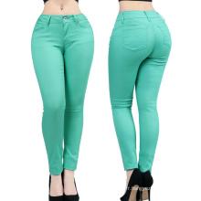 Pantalon de legging décontracté skinny stretch pour femme