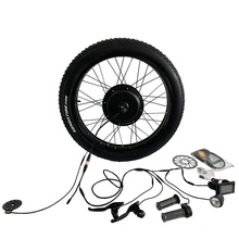 Controller Built-in 48v 1000w Fat Tire Electric Bike Bicycle Conversion Kit with SW900 Display