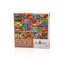 Adult Games Personalized Custom 500 paper Jigsaw puzzle