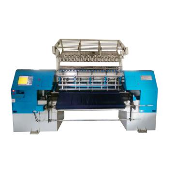 Best quality kw96h lower price high speed multi needle quilting machine three shuttle