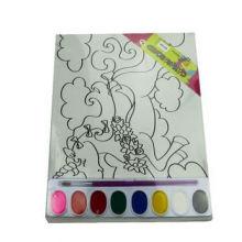 colorearme, tablero de lona, tablero de pintura