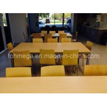 Mobilier de salle à manger industriel / Cantine d'entreprise Table et chaise de meubles de salle à manger (FOH-RT3)
