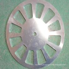 Placa de base de alumínio para máquina