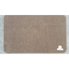 Polyester Napping Surface Tapis de porte
