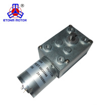 DC worm gear motor 6v 12v 24v with low speed