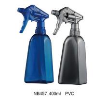 Garrafa do pulverizador do disparador do PVC 400ml para limpar (NB457)