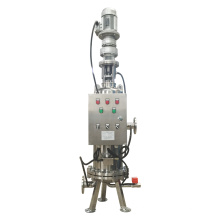 Automático Backwash Self Cleaning Filtro de água do cartucho de aço inoxidável