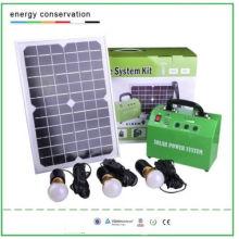 10W Solar Lighting System Kit