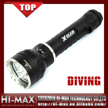 Hi-Max NEUE Tauchfackel CREE XM-L U2 * 3 LED 3800 Lumen Tauchen Taschenlampe 110085