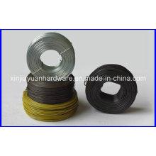 Fio do laço do Rebar da bobina pequena / preto ou HDG que amarra o fio