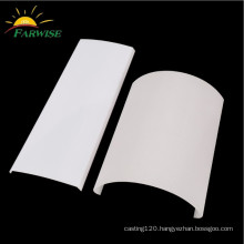 specialized extrusion plastic LED strip linear lamp housing