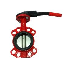 Válvula de mariposa de alta calidad Wafer tipo Pn16
