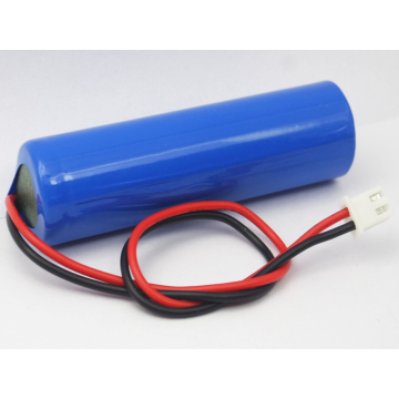 Paquet de batterie au lithium de 1 cellule 3.7v 2200mAh (18650C1)