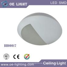 15W LED luz de anteparo/teto com 3 horas de emergência