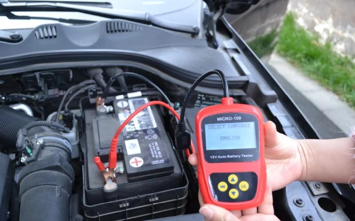use battery tester