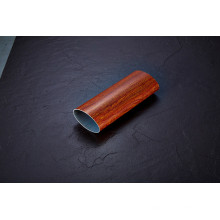 Wood Pattern Round Colored Stainless Steel Pipe/Tube