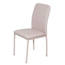 Leather Dining Chair with Paint Frame