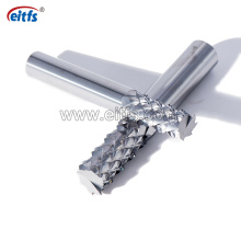 High Processing Efficiency Solid Carbide Corn Teeth End Mill for Glass Fiber