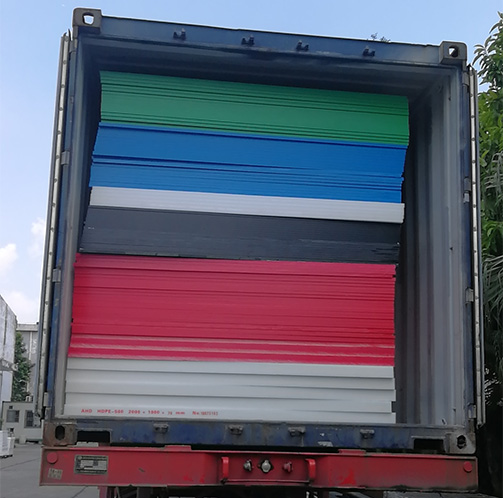 AHD container packing