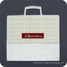 Plastic Shopping Bag with Snap-Seal