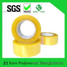 48мм Ширина желтоватая акриловая клейкая лента bopp