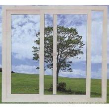 Fenêtres coulissantes en PVC à double vitrage personnalisées
