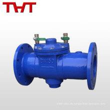 válvula de control del agua