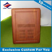 Custom Engraved Wall Soild Wooden Plaque Trophy