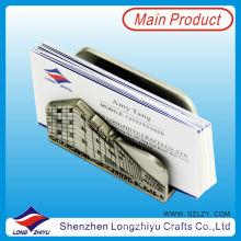 Kartenhalter aus Metall Visitenkartenhalter aus Metall