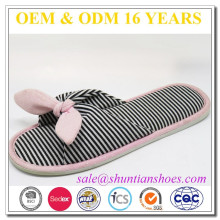 New winter open toe indoor craft slippers