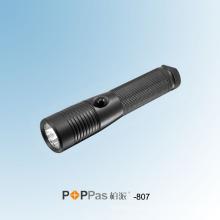 150 люменов высокой мощности CREE Xr-E Q5 алюминиевый светодиодный фонарик (POPPAS-807)