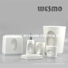 Ensemble d'accessoires de bain en porcelaine (WBC0406A)