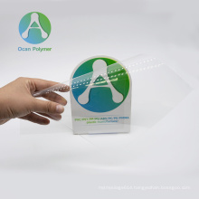 OCAN food grade clear transparent pvc film for wrapping